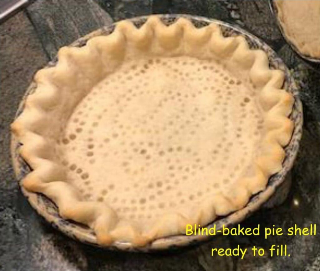 How to blind-bake a pie crust, step-by-step instructionsshell