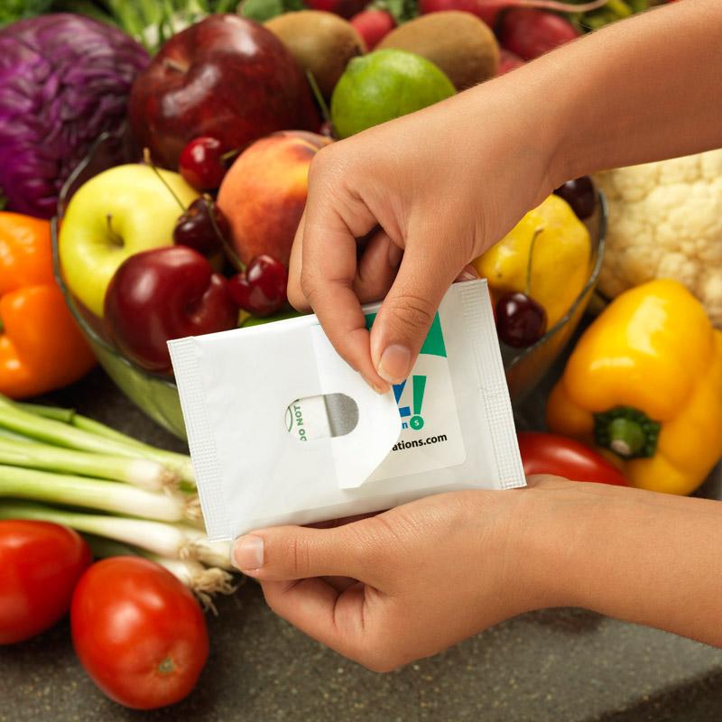 Guard'N Fresh - Natural Produce Saver demonstration
