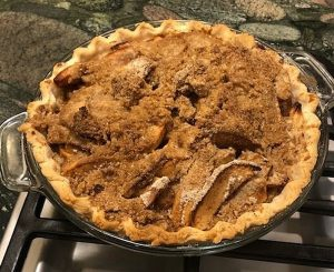 A Classic Dutch Apple Pie
