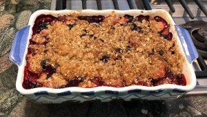 Strawberry Blueberry Crumble Recipe