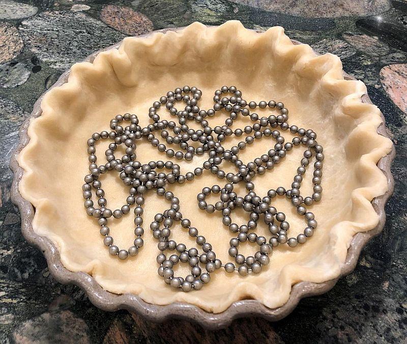 blind bake pie crust for lemon pie