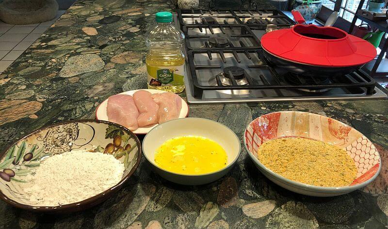 Chicken Schnitzel ingredients