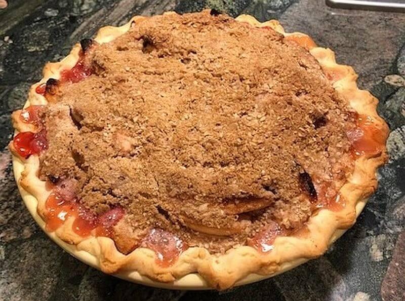 Fall Fruit Pie recipe