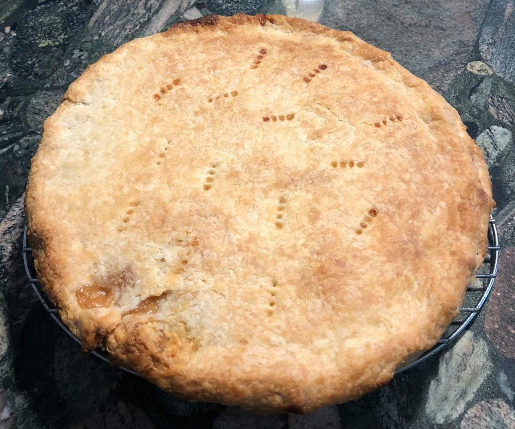 Honey Peach Pie Recipe