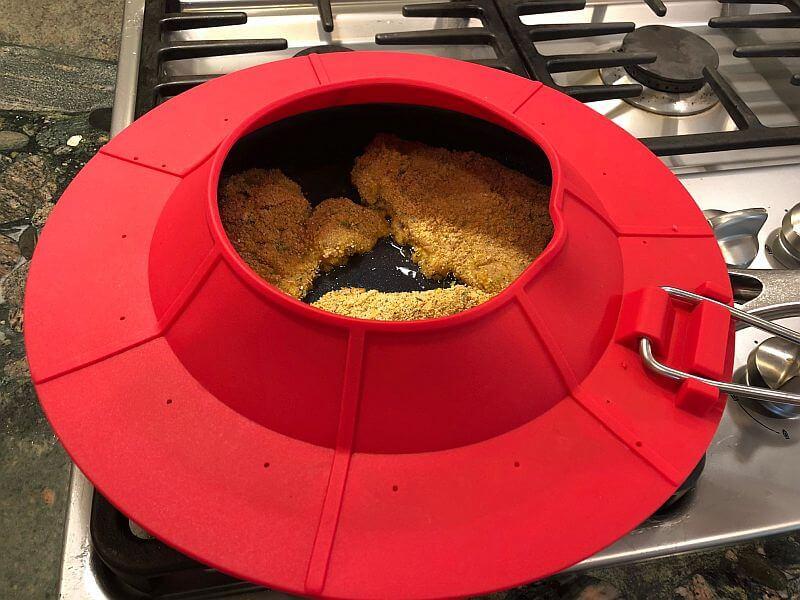 frying Chicken Schnitzel